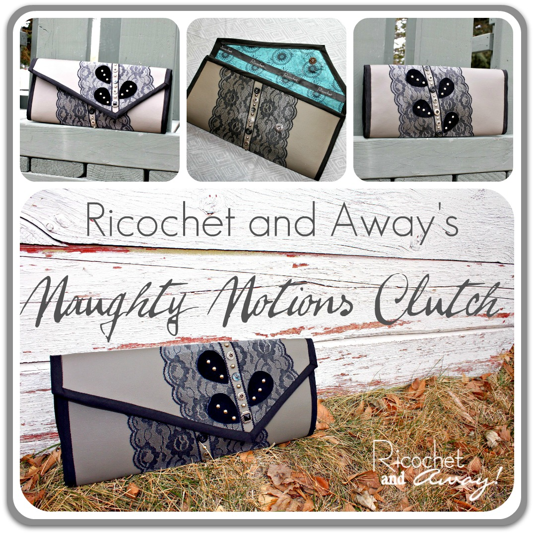 Painting Vinyl Floors Ricochet And Away I Painted: Ricochet And Away!: Naughty Notions Clutch Is Done