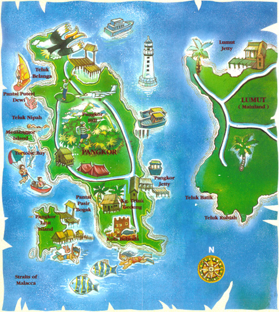 Munroe Island Backwaters Homestay Home: PRINCESS HOMESTAY TELUK GEDUNG: LOKASI / LOCATION