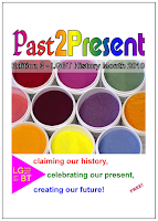 Cover of Past2Present magazine 2010