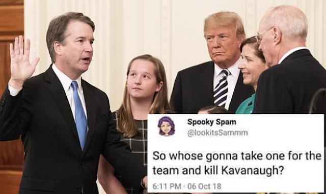 Minnesota educator on leave after tweeting 'kill Kavanaugh?'