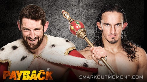 WWE Payback Neville vs Barrett 2015 PPV