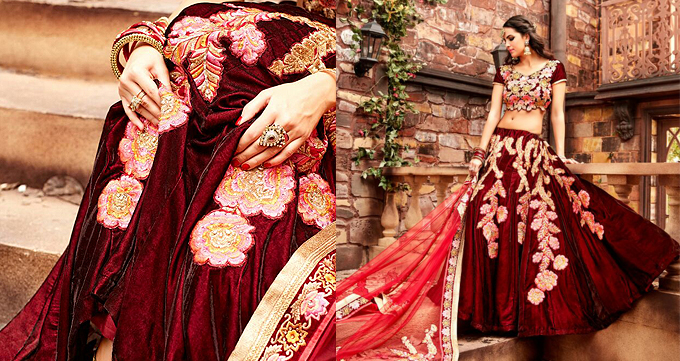 8d992032411b The biggest trends in designer lehengas we will see this year | Like ...