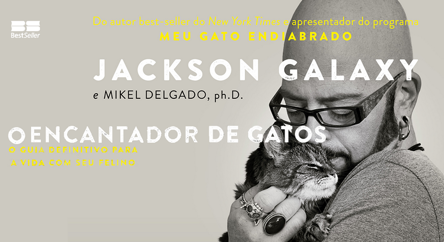 o encantador de gatos, jackson galaxy, total cat mojo, editora record, editora bestseller