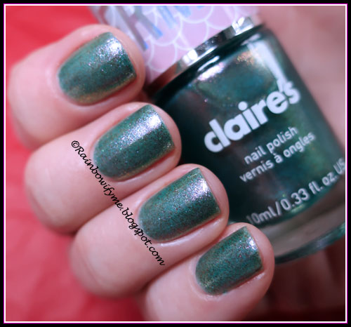 Claire's ~ Mermaid Oil Blue