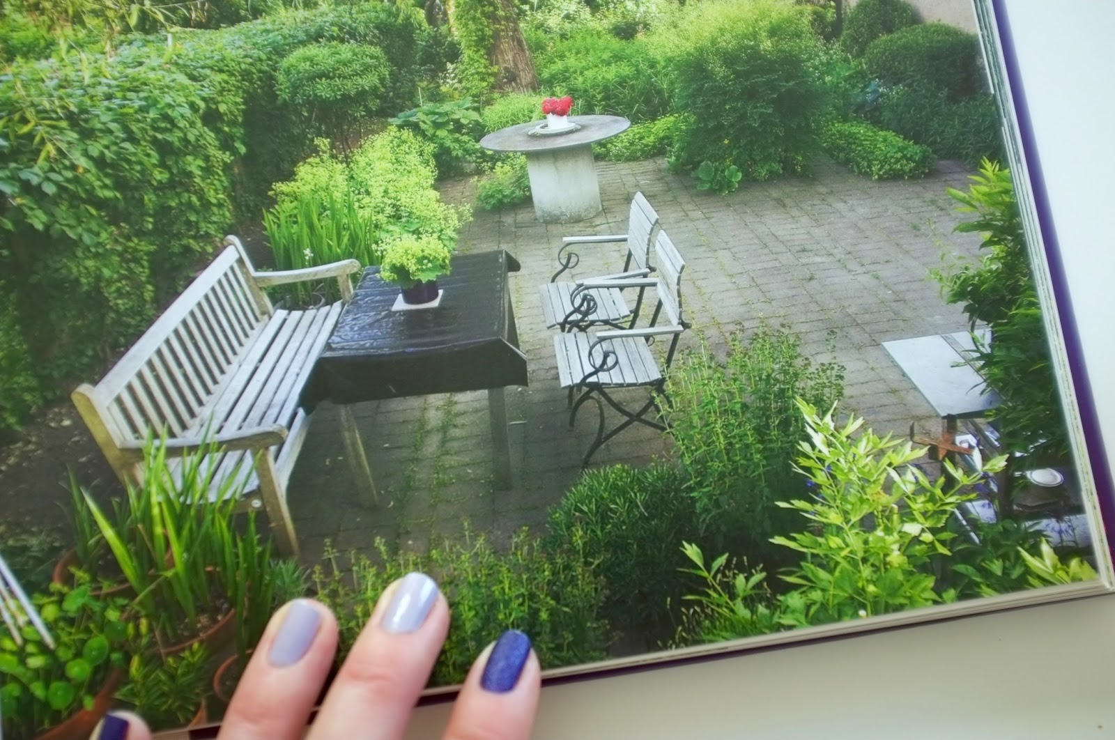 Emmixad: trädgårdsplanera
