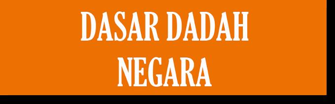 LIMA TERAS UTAMA DASAR DADAH NEGARA