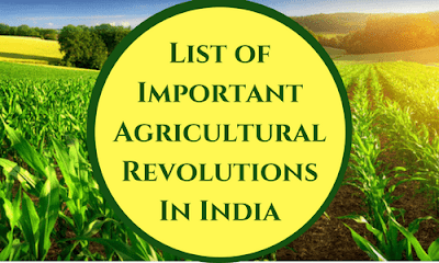 agricultural india agriculture important revolutions table points following briefly agrilearner revolution key followed highlights very agri learner