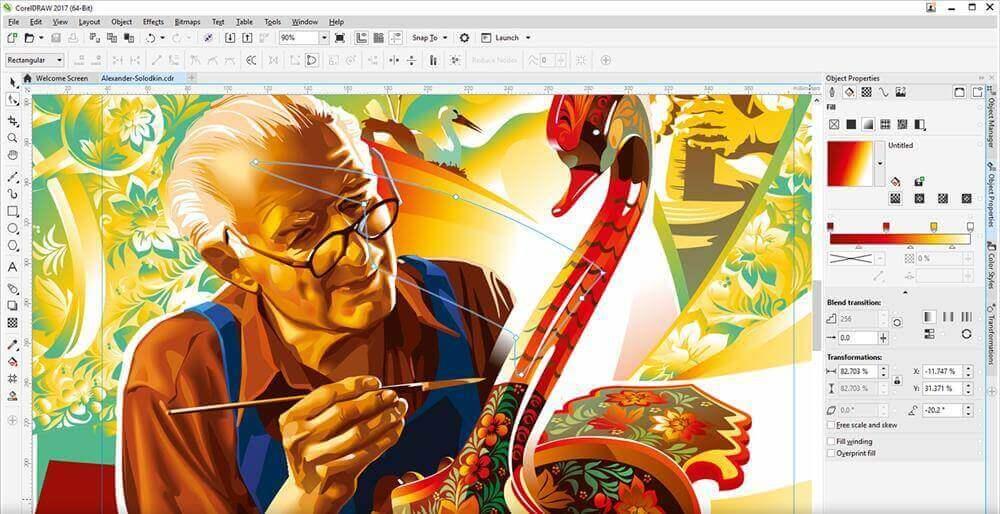 Sejarah CorelDRAW - CorelDRAW Graphics Suite 2017