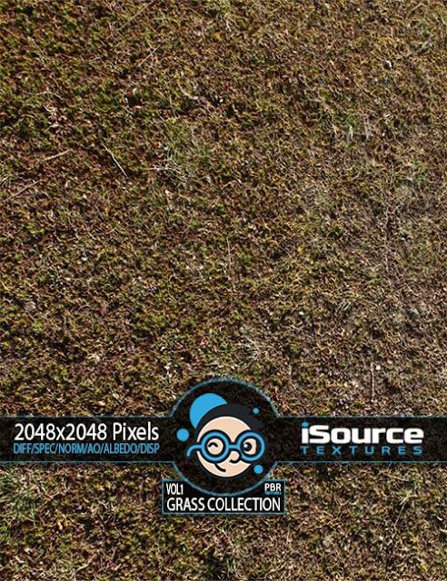 Grass Collection - Vol1 PBR Textures