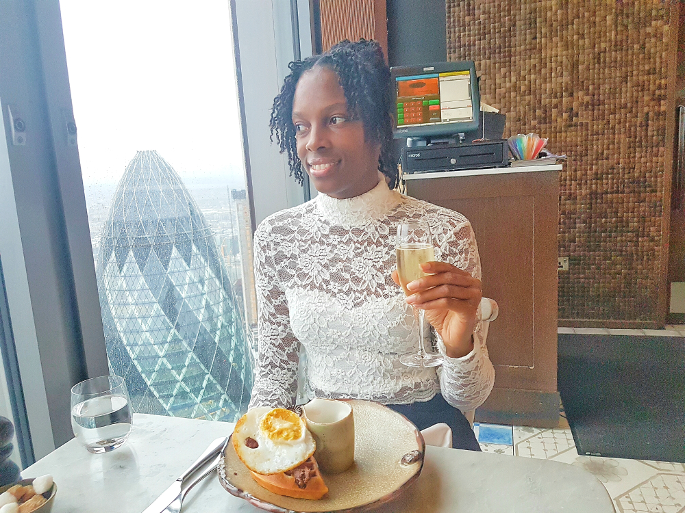 Duck and waffle food review