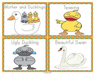https://www.teacherspayteachers.com/Product/The-Ugly-Duckling-Unit-818072
