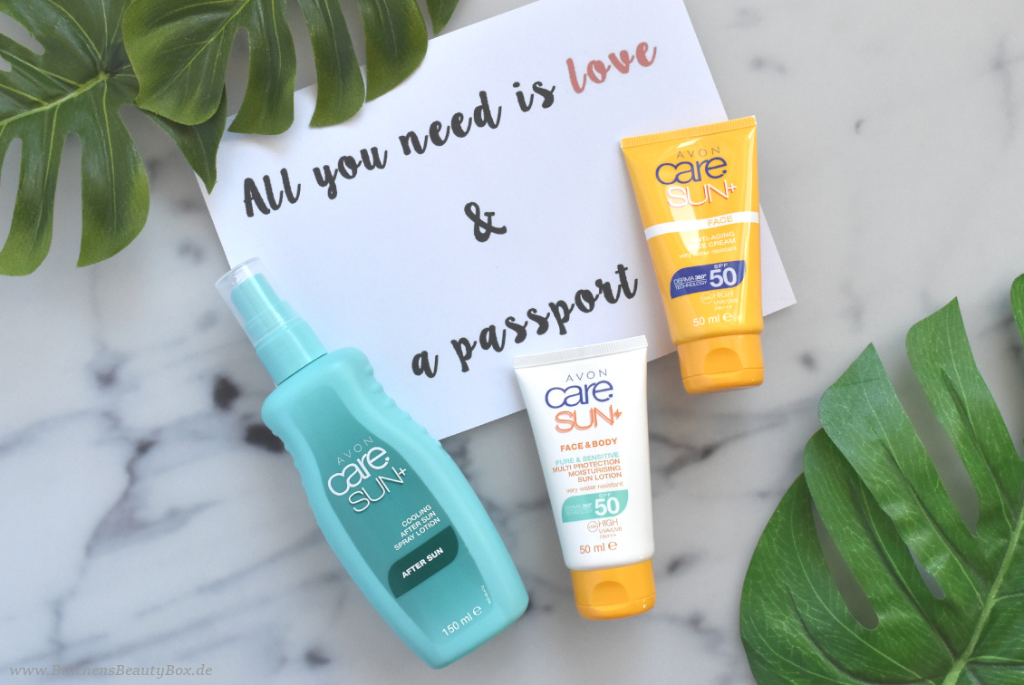 Reise Essentials & Must Haves - Sonnenschutz und Aftersun von Avon