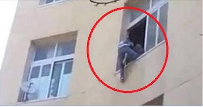 فتاة من إمبابة| ألقت بنفسها من الطابق الثالث هرباً من الاغتصاب,,