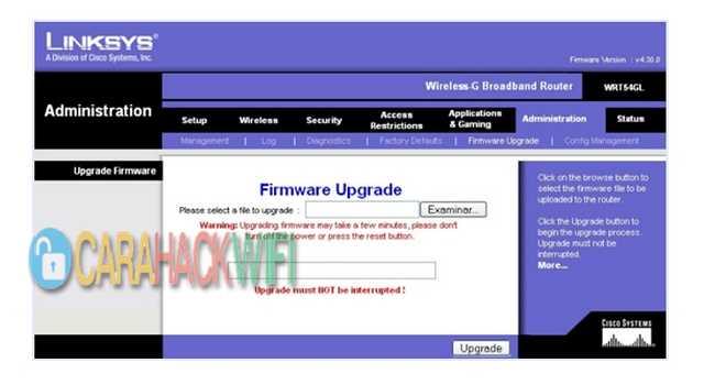 Selalu update OS Router atau firmware
