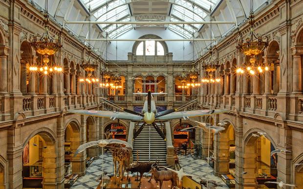Kelvingrove Art & Museum Glasgow Britain Visitor