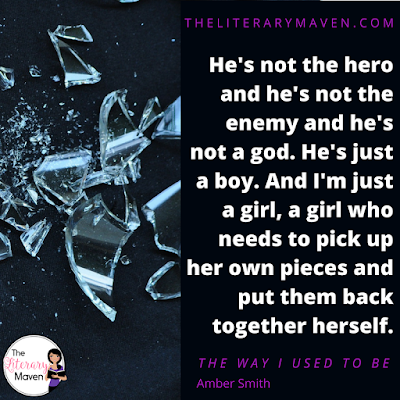 The Way I Used To Be by Amber Smith is the devastating story of how keeping a secret you shouldn't can destroy your life. After Eden is raped in her own bed her brother's best friend, she is convinced that no one will believe her. Instead of seeking help, she tries to pretend it never happened, but the trauma of the event and refusing to deal with it just leads to a spiral of destructive behavior and ruined relationships. Read on for more of my review and ideas for classroom application.