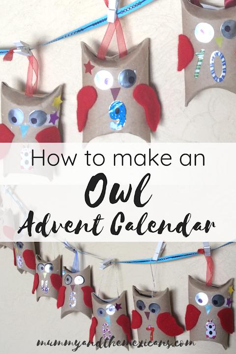 How to make an owl advent calendar