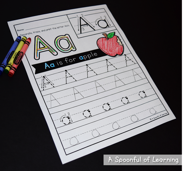 Alphabet Activities 3