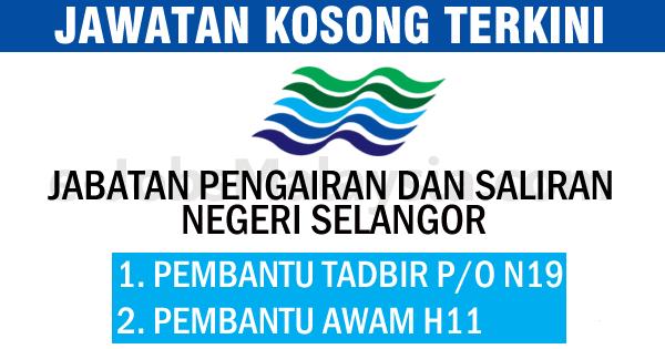 Jabatan Pengairan Dan Saliran Negeri Selangor