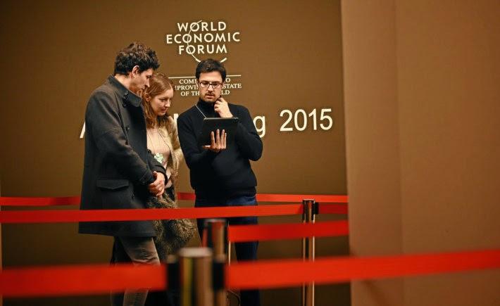 Durante el Foro Económico Mundial de Davos, Suiza, se presentó un análisis sobre el internet industrial y el futuro de la industria y el mercado laboral. (Foto: WEF)