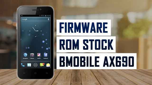 rom stock Bmobile AX690