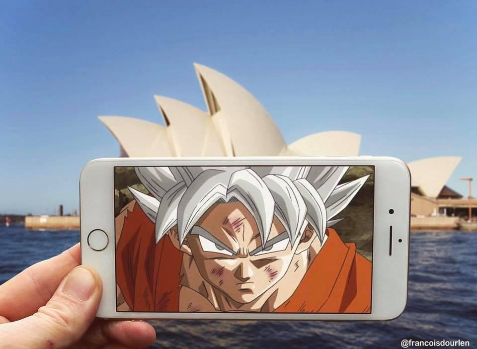 Goku di dunia nyata