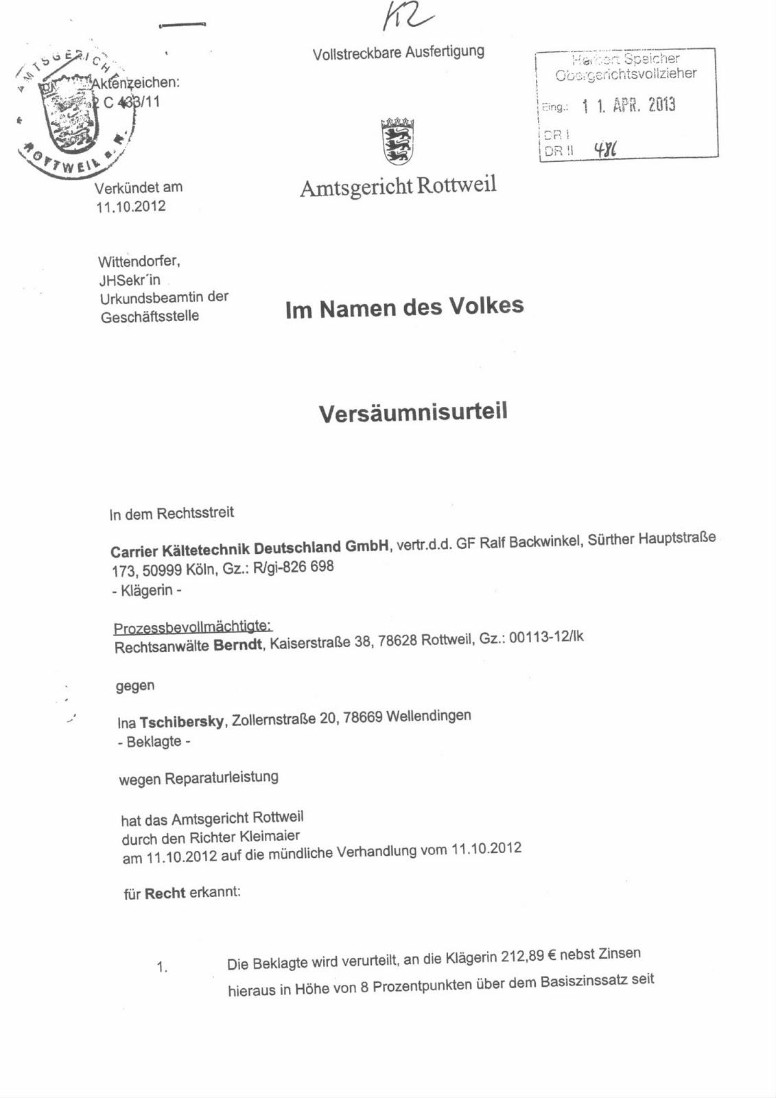 Report Der Enteignung In Langenargen Am Bodensee Im Jahr 2010