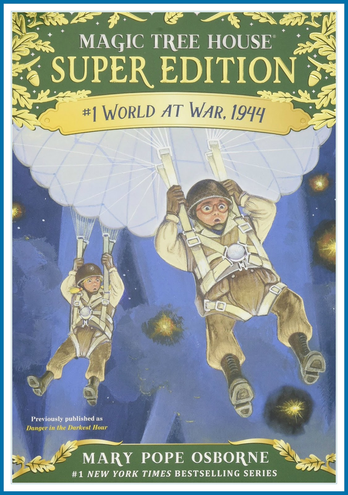 World at War, 1944 - Review of a Magic Tree House Super Edition on