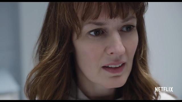 Rosemarie DeWitt (Marie) en mère angoissée dans Arkangel, réalisé par Jodie Foster (2017)