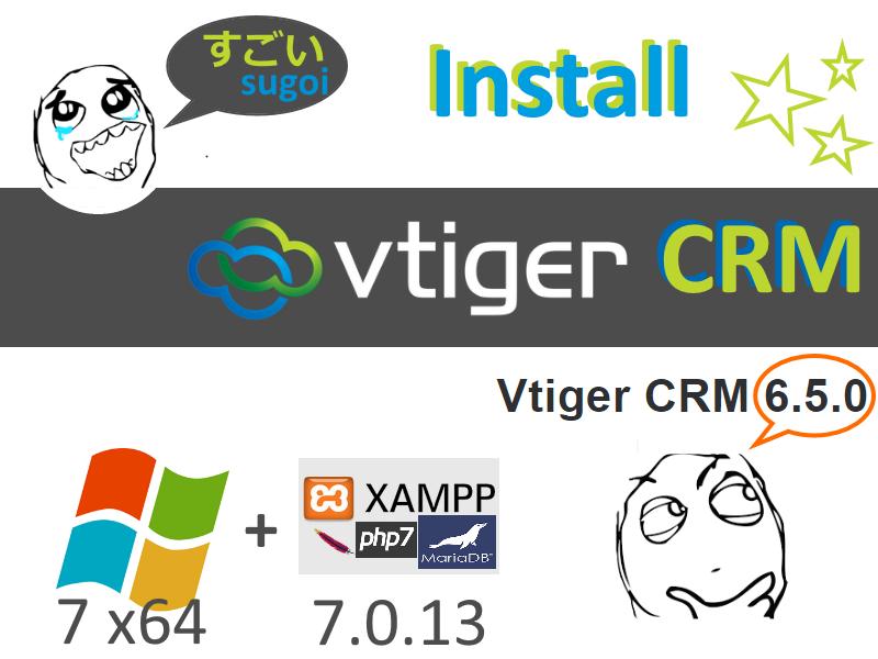 codingtrabla: Install vTiger CRM 6 5 0 on Windows 7