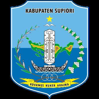 Logo Kabupaten Supiori PNG