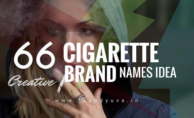 cigarette brand names ideas
