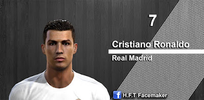 PES 2013 Ronaldo face by H.F.T