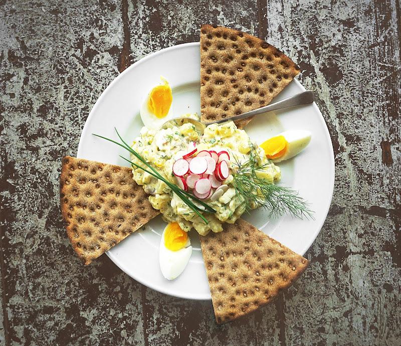Gubbröra - Fishy Swedish Egg and Potato Salad