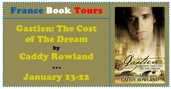 http://francebooktours.com/2013/11/22/caddy-rowland-on-tour-gastien-cost-of-the-dream/
