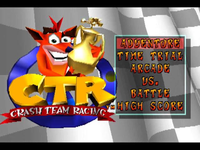 لعبة كراش CTR Crash Team Racing
