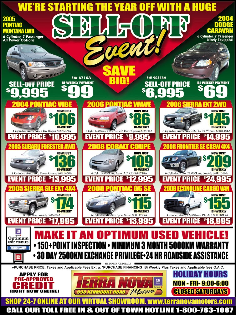 Island Wide Summer Sale Flyers - Galaxy Motors