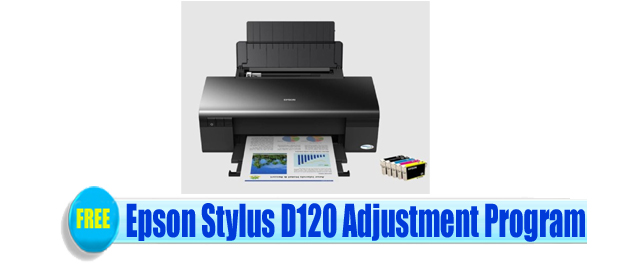 Epson Stylus D120 Adjustment Program