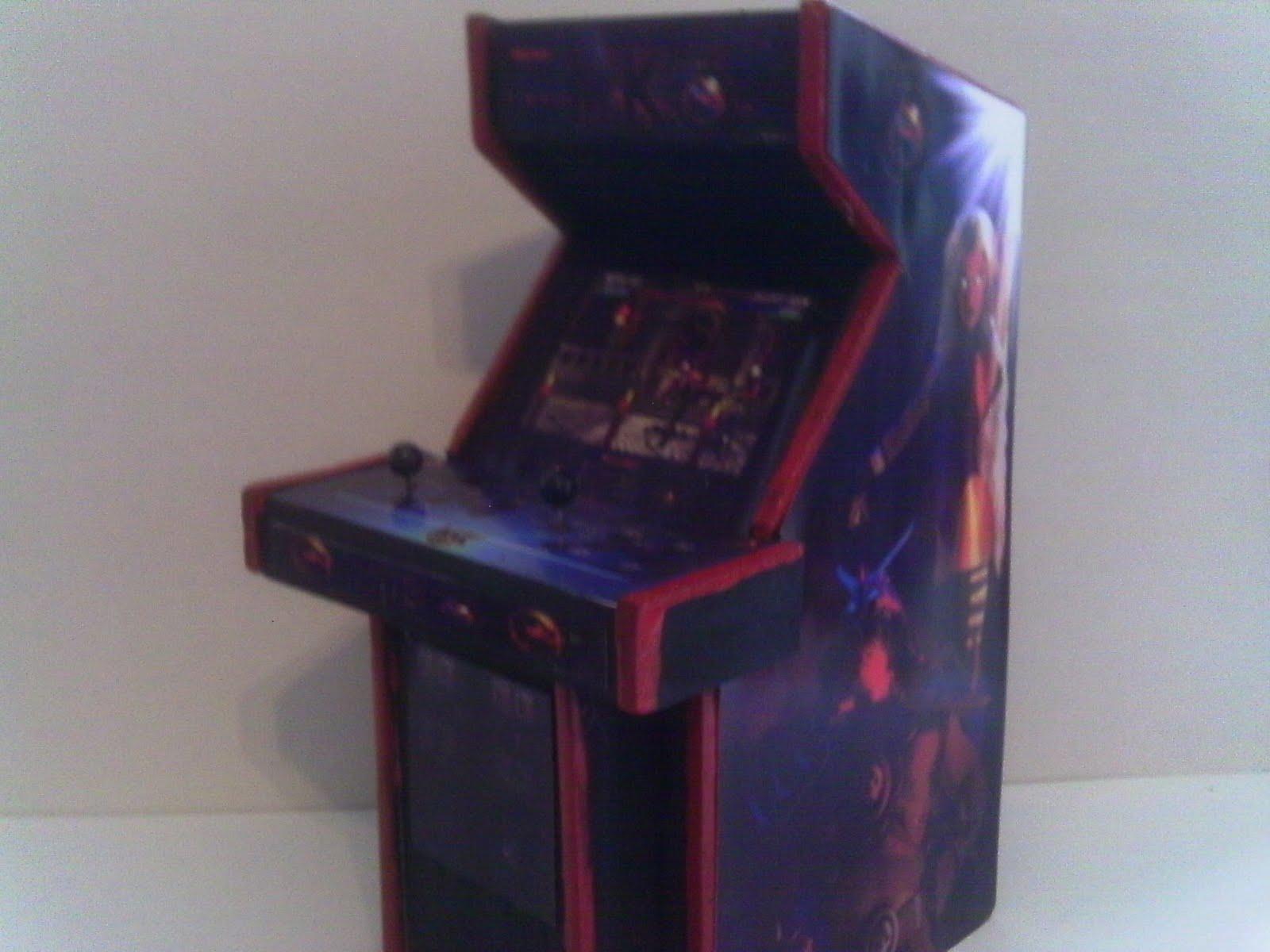Retro Heart: Mortal Kombat Series - 1,2 & 3 - Arcade Models
