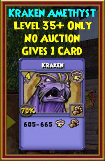Kraken - Wizard101 Card-Giving Jewel Guide