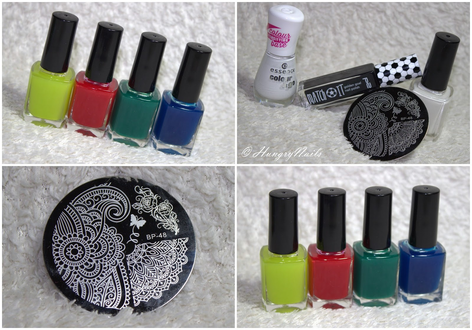 Sommerliches Stamping Design mit DIY Sheer Tints - HungryNails Blog ...