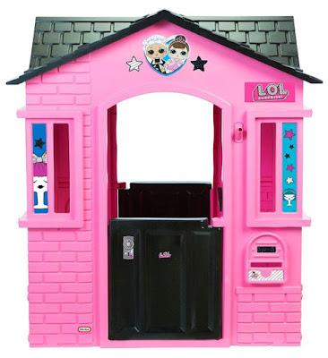 Розово-черный игровой домик для девочек L.O.L. Surprise