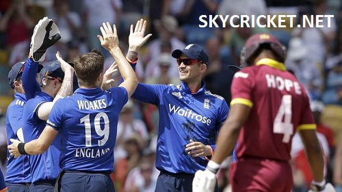 England beat West Indies 3-0 in ODI