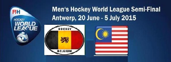 live streaming Hoki Malaysia Vs Belgium 26 Jun 2015
