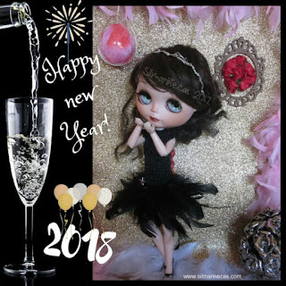 Feliz año 2018 by Caty blythe