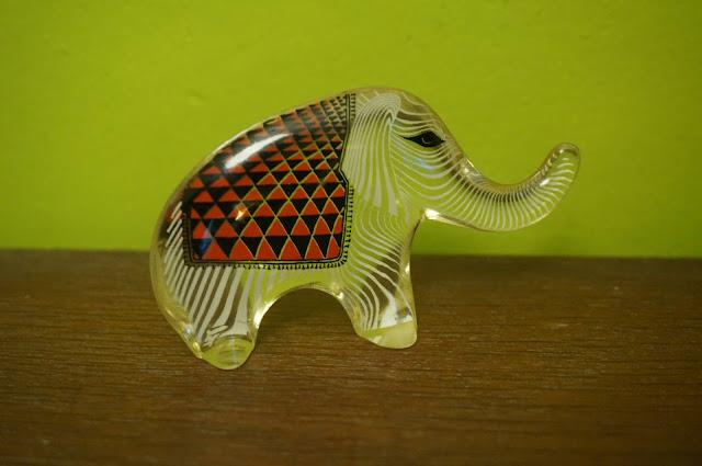 abraham palatnik elephant lucite brazil