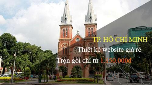 Thiết kế web giá rẻ tại TP.HCM