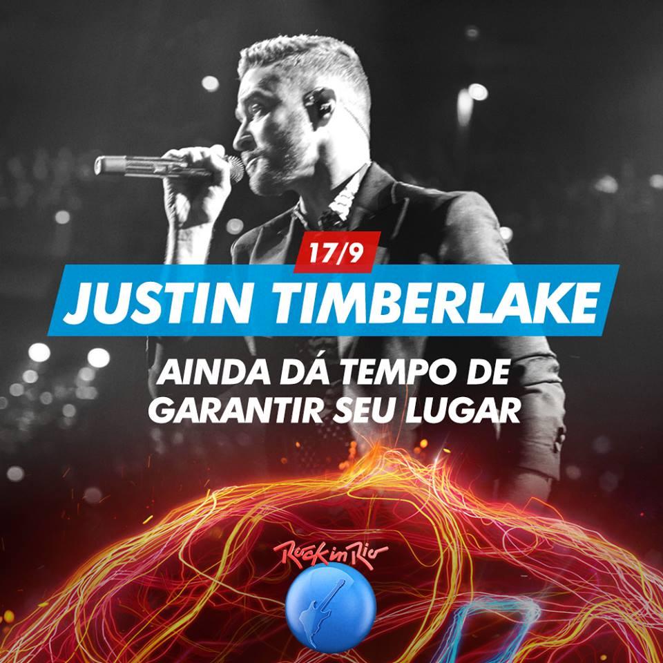 Assistir Justin Timberlake Show Rock in Rio 2017 Torrent 720p 1080p Online