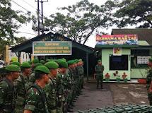Koramil Tomohon Siagakan Peleton Pengamanan Jumat Agung dan Paskah