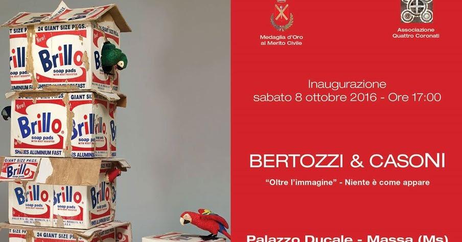 Bertozzi & Casoni in mostra a Palazzo Ducale di Massa
